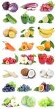 Frutta e lattuga arancio b della mela della raccolta delle verdure Immagini Stock