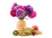 Frutta e mazzo Immagini Stock