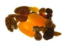 Frutta e noci Fotografie Stock