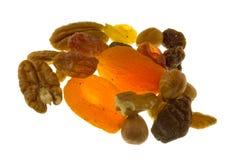 Frutta e noci Fotografie Stock Libere da Diritti