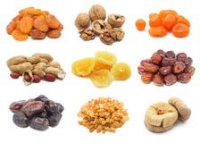 Frutta e noci secche Fotografia Stock