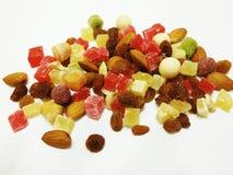 Frutta e noci secche Immagine Stock Libera da Diritti