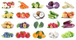 Frutta e peperone dolce Cher delle arance delle mele della raccolta delle verdure Immagine Stock