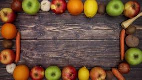 Frutta e struttura delle verdure - fermi il moto archivi video