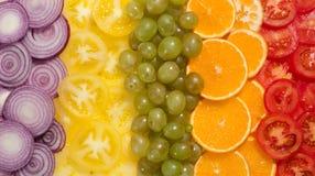 Frutta e vegatables Fotografia Stock