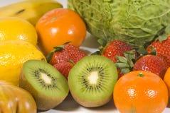 Frutta e vegatables Fotografia Stock Libera da Diritti