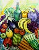 Frutta e veggies Fotografie Stock Libere da Diritti