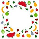 Frutta e Veggies illustrazione di stock