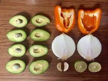 Frutta e Veggies Fotografia Stock