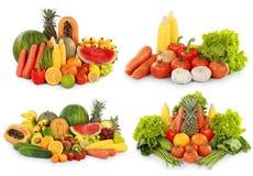 Frutta e verdura Fotografie Stock Libere da Diritti