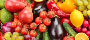 Frutta e verdura Immagini Stock