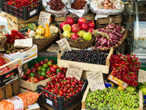 Frutta e verdura Fotografie Stock