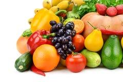 Frutta e verdura Fotografia Stock