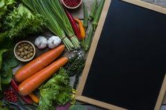 Frutta e verdura fresche del mercato degli agricoltori Fotografia Stock