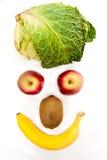 Frutta e verdura sane Immagini Stock Libere da Diritti