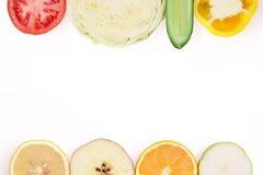 Frutta e verdure Fotografie Stock Libere da Diritti