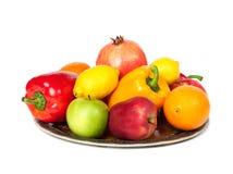 Frutta e verdure. Immagini Stock