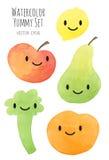 Frutta e verdure colorate differenti Fotografie Stock Libere da Diritti