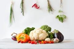 Frutta e verdure dell'accumulazione Immagini Stock