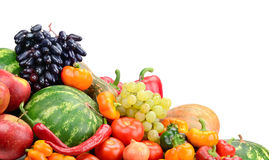 Frutta e verdure della raccolta Immagini Stock