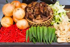 Frutta e verdure fresche Fotografie Stock Libere da Diritti