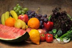 Frutta e verdure fresche Fotografia Stock
