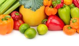 Frutta e verdure fresche dell'assortimento Immagine Stock Libera da Diritti