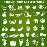 Frutta e verdure verdi Fotografie Stock