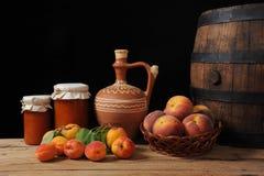 Frutta ed ostruzione Fotografia Stock Libera da Diritti