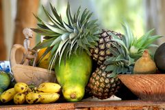 Frutta esotica da Zanzibar fotografie stock libere da diritti