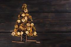 Frutta-essicata natalizia Stockbilder