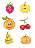Frutta felice 1 Fotografie Stock Libere da Diritti