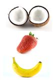 Frutta felice 1 Immagine Stock Libera da Diritti