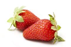 Frutta fresca della fragola Immagini Stock