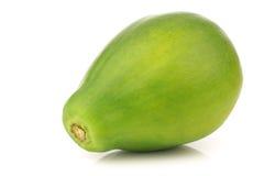 Frutta fresca della papaia Immagine Stock Libera da Diritti