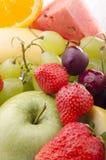 Frutta fresca della stagione Immagini Stock Libere da Diritti