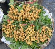 Frutta fresca di wampee Immagine Stock