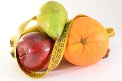 Frutta fresca e tester Immagini Stock Libere da Diritti