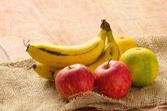 Frutta fresca, limone dolce della banana di Cuba Fotografia Stock