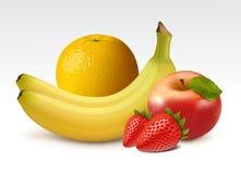 Frutta fresca matura Fotografia Stock