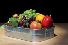 Frutta fresca mista Immagini Stock