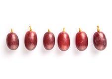 Frutta III dell'uva rossa Fotografia Stock