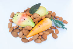 Frutta Martorana Royalty-vrije Stock Foto
