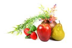 Frutta matura fotografie stock