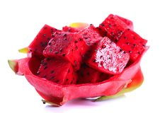 Frutta matura di pitaya immagini stock libere da diritti