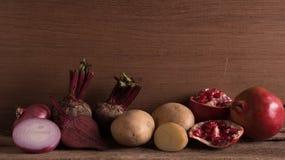 Frutta mista e verdura Fotografia Stock Libera da Diritti