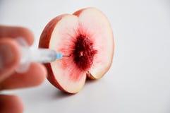 Frutta modificata Fotografia Stock Libera da Diritti