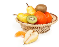 Frutta nel cestino. Fotografia Stock Libera da Diritti