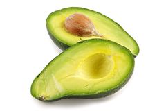 frutta nutriente Avocado-oleosa Immagini Stock