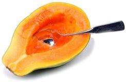 Frutta-Papaia Fotografia Stock